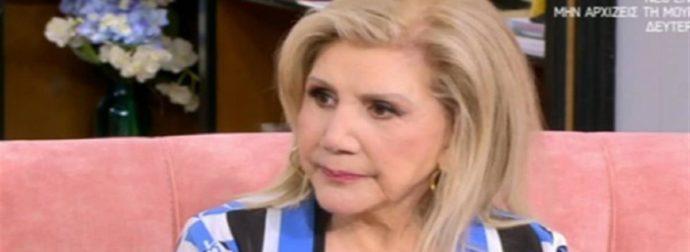 Ανατριχιάζει η Λίτσα Πατέρα: «Έχω ντραπεί, έχω κλάψει… Φοβάμαι…» (Video)