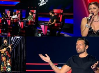 The Voice Highlights (18/9): Τα πρώτα λόγια του Κωνσταντίνου Αργυρού και το νέο look της Παπαρίζου